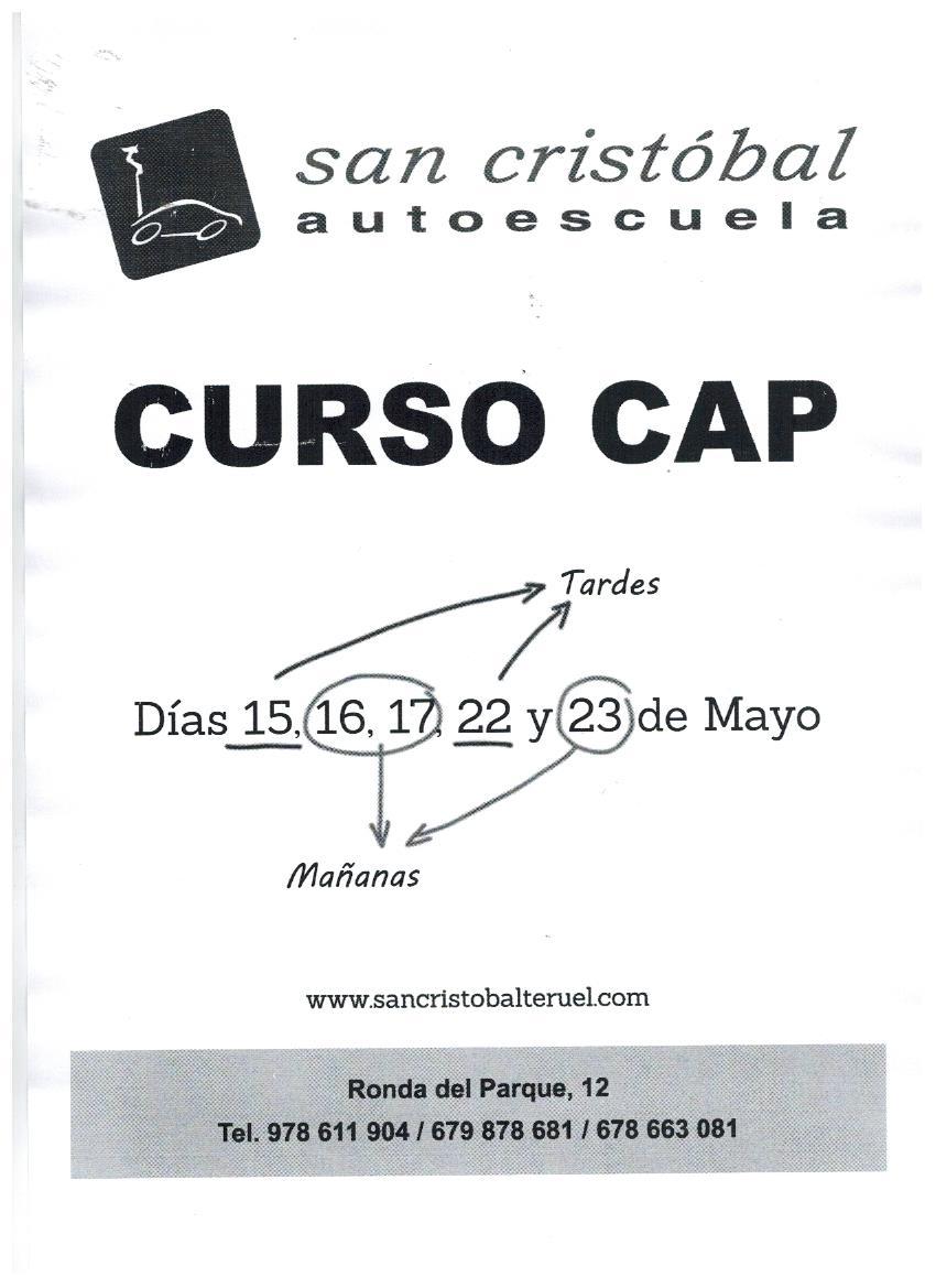 Curso CAP Mayo 001