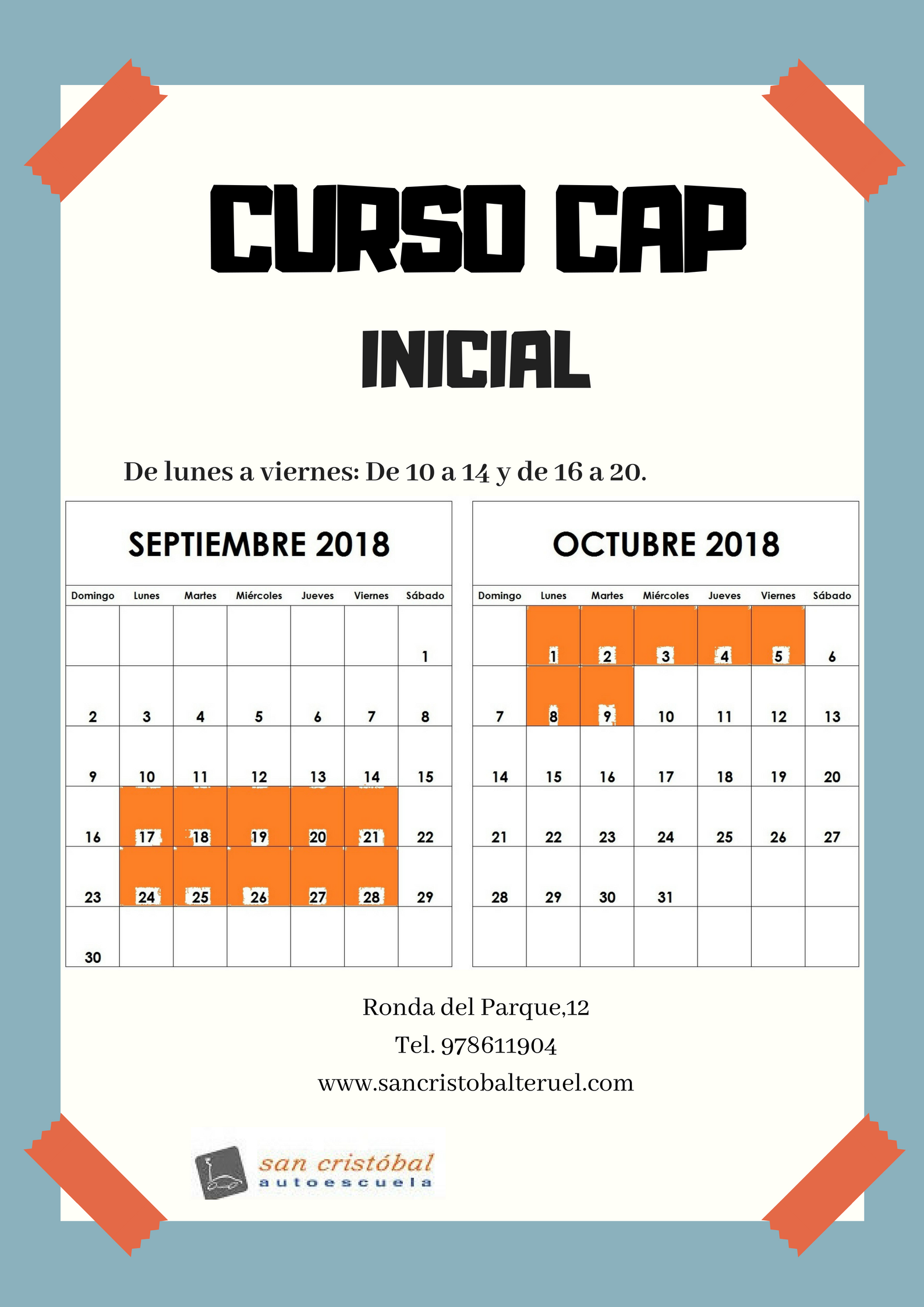 cartel CAP provisional